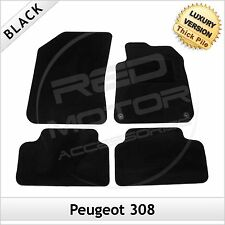 Peugeot 308 Mk2 2014 2015 onwards Tailored LUXURY 1300g Car Mats