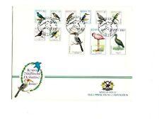 KENYA 1999 BIRD DEFINITIVE SET 12v ILLUSTRATED FIRST DAY COVER