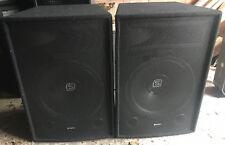 Pair of Skytec SL15 DJ PA Speakers 15inch woofers 250watt 8ohm
