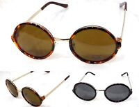 Men Women Round Hippie Sunglasses Retro Style  John Lennon ZB366