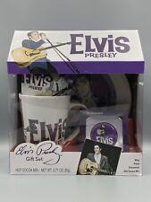Elvis Presley Gift Set - Burning Love - Mug - Plate -  Ornament & Hot Cocoa Mix