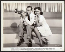 FRED ASTAIRE & PAULETTE GODDARD Vintage Orig Photo SECOND CHORUS leggy actress