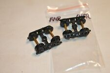 Ho scale Parts passenger car trucks plastic Roundhouse Overton old time