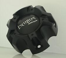 INCUBUS WX03 135/139.7-5H LG0903-26 BLACK CENTER CAP (WX03FB & DECAL-INC)
