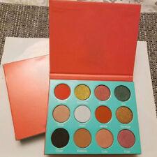 12 Farbe Shimmer Matte Lidschatten Palette Eyeshadow Augen Kosmetik Makeup Puder