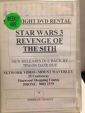 STAR WARS 3 - REVENGE OF THE SITH (2 DISC SET) (R4 -1 GOOD,1LIKE NEW) - DVD #251