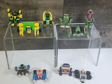 Lot of 10 Vintage Galoob Micro Machines Mini Z-BOTS Stacking Bots