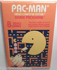 """Pac Man Atari 2600 Vintage Game Box  2"""" x 3"""" Refrigerator Locker MAGNET Pacman"""