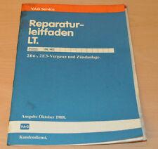 Werkstatthandbuch Reparaturleitfaden VW LT Vergaser und Zündanalge Stand 10/88