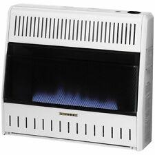 ProCom Heating Ventless Natural Gas Blue Flame Space Heater - 30,000 BTU