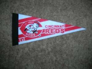 Cincinnati Reds 1980's mini pennant