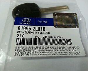 GENUINE HYUNDAI FD i30CW Blank Transponder Key 81996 2L010