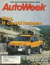 AUTOWEEK 2000 DEC 25 - ROSS BRAWN, '60 EDSEL RANGEDR CONVERTIBLE, EXPLORER