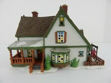 Dept 56 New England Village Harper's Farmhouse #56612 Good Condition