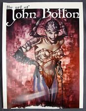 SQP Inc 1988-2001 The Art of John Bolton 96 Pages Book Neil Gaiman Intro 9x12""