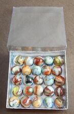 (25) Awesome Marbles - Lutz, Aventurine, Confetti Sprinkles 041717-28 Cbm