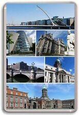 Dublin CIUDAD Imán de Nevera
