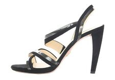 PRADA Black Strappy Sandals, Size 40 10 Shoes - Simple and elegant!
