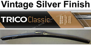 "Classic Wiper Blade 15"" Antique Vintage Styling Silver Finish Trico - 33-150"