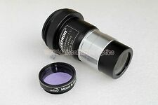 "Celestron 2x barlow lens 1.25"" / t-adapter + Moon filter for telescope eyepiece"