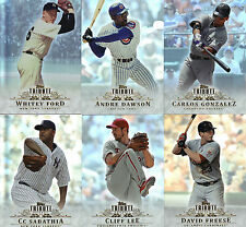 "2013    ""TOPPS""    TRIBUTE  BASE   PIC YOUR OWN 5 CARD LOT"