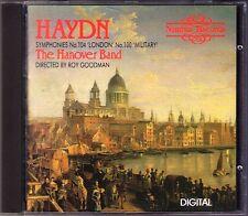 Haydn Symphony 100 Military 104 Roy Goodman the Hanover nastro CD Nimbus sinfonie