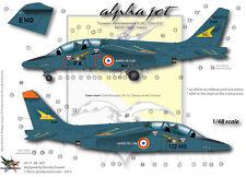 "[FFSMC Productions] Decals 1/48 Alphajet E 05.002 ""Cote d'Or"" (Dijon)"
