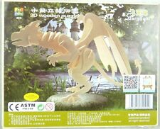 WoodCraft Construction Kit 3D Wooden Puzzle Flying Dragon Model Jigsaw gift