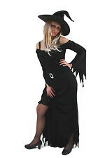 Costume de Sorcière Wicked Witch Robe Halloween Vampire