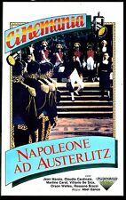 Napoleone ad Austerlitz (1960)  VHS Fonit  Claudia Cardinale  Vittorio De Sica