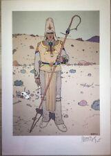 MOEBIUS Starwatcher affiche offset, signed,  RARE