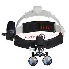 Sales Dental 3.5X LED Headlight Headband Medical Loupe Binocular Compound Optics