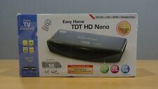 SINTONIZADOR TV TDT EASY HOME TDT HD NANO USB HD HDMI SCART COMO NUEVO