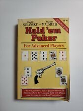 Hold'em Poker for Advanced Players : 21st Century Edition by David Sklansky and…
