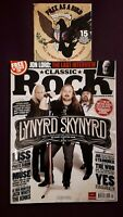 Classic Rock 3 Magazine Bundle +CDs Lynyrd Kiss Maiden Jimi Issue 175 176 177