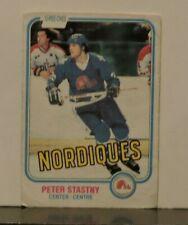 1981 O-Pee-Chee Hockey Card #269 Peter Stastny RC