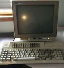 Ibm 3476 Green Amber Twinax Dumb Terminal Workstation 122 Keyboard