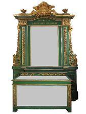 Autel d'époque XVIIIème bois laqué doré baroque
