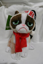 "GRUMPY CAT 7"" Christmas plush - HO HO NO"