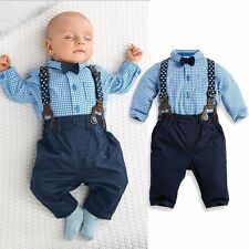 baby toddler boys plaid dress pants wedding party outfits suits
