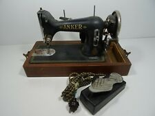 Original Rare Vintage Anker Works Heavy Duty Sewing Machine Hillman Electric