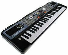 Mq-4913 49 Key Black Electronic Keyboard - Music Workstation