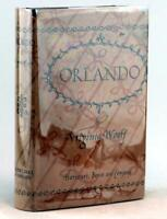 Virigina Woolf First Edition 1928 Orlando A Biography Hardcover w/Dustjacket