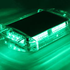 Xprite 40 LED Car Roof Strobe Light Bar Green Emergency Warning Flash Beacon 12V