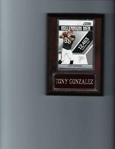 TONY GONZALEZ PLAQUE ATLANTA FALCONS FOOTBALL NFL   C2