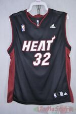 Adidas Miami Heat Shaq O'Neal # 32 Basketball Jersey Youth Large14-16 Black