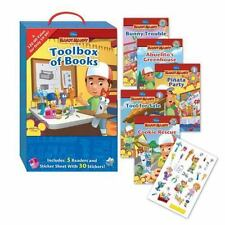 New in Case Toolbox of Books Set by Disney Paperback Group 5 Readers Handy Manny