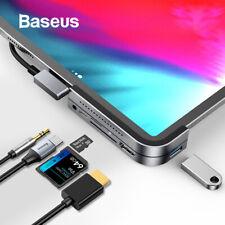 Baseus USB C HUB to USB 3.0 HDMI USB HUB for iPad Pro Type C HUB for MacBook