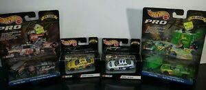 1/64 Hot Wheels Racing NASCAR Diecast Lot of 4 John Deer Gumout Cheeios Paychex