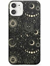 Sun, Moons, & Star Signs Astrological Slim TPU Case for iPhone Zodiac Vintage